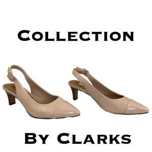Collection by Clarks Slingback Pumps Size 7 1/2M
